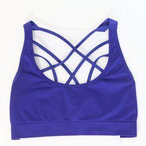 Victoria's Secret Sports Bra Small Strappy VS